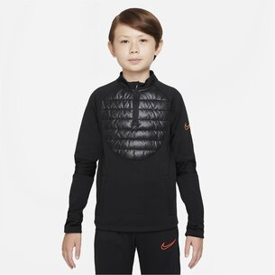Nike Therma Fit Academy Winter Warrior Big Kids Soccer Drill Top