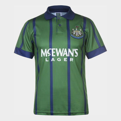 Score Draw Newcastle United 1993 Third Shirt Mens
