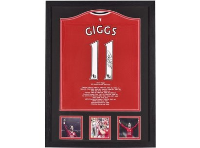Team Ryan Giggs Hand Signed Shirt