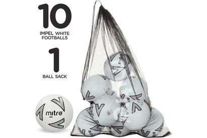 Mitre Impel Football 10 Pack