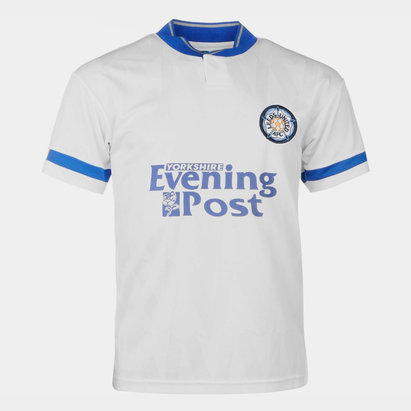 Score Draw Leeds United 1992 Home Jersey Mens