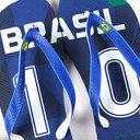 Havaianas Teams II Brazil Flip Flops