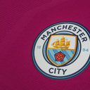 Manchester City 17/18 Away Players Match Day S/S Football Shirt