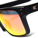 Oakley Holbrook OO9102-51 Matte Black Ruby Iridium Sunglasses