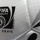 Elite 1 FIFA Approved Match Football White/Black/Silver