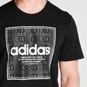 Box Linear Mens T shirt