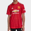 Manchester United Authentic Home Shirt 20/21 Mens