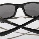 Fives Squared 9238 0654 Polished Black Polarized Black Iridium Sunglasses