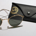 Ray-Ban 3447 Gold Green Classic Sunglasses