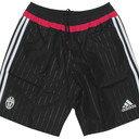 Juventus 15/16 Woven Football Training Shorts