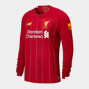 Liverpool Long Sleeve Home Shirt 2019 2020