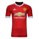 Manchester United 15/16 Home adizero Authentic Players S/S Football Shirt