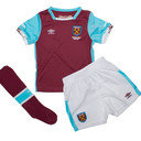 West Ham United 16/17 Home Kids Replica Football Kit