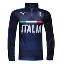 Italy 16/17 1/4 Zip Football Training Top
