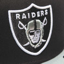 NFL Oakland Raiders Cotton Block 9Fifty Snapback Cap