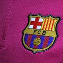 FC Barcelona 16/17 Drill 1/4 Zip L/S Midlayer Top