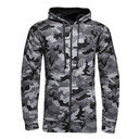 Storm Rival Full Zip Printed Fleece Hooded Sweat