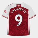 Arsenal Alexandre Lacazette Home Shirt 20/21 Kids