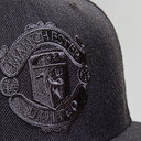 Manchester United 9Fifty Graphite Football Snapback Cap