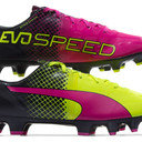 evoSPEED 1.5 Tricks FG Kids Football Boots