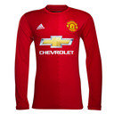 Manchester United 16/17 Home L/S Replica Football Shirt