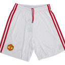 Manchester United 16/17 Home Kids Football Shorts