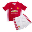 Manchester United 16/17 Home Mini Kids Replica Football Kit