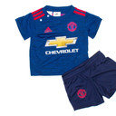 Manchester United 16/17 Away Infant Replica Football Kit