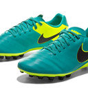 Tiempo Genio II Leather AG-R Football Boots