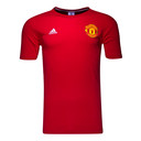 Manchester United 16/17 3 Stripe Football T-Shirt