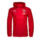 Arsenal 16/17 Players Shower Proof Football Jacket