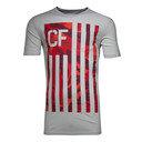 Crossfit Camo Flag Pocket T-Shirt