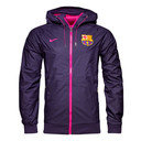 FC Barcelona 16/17 Full Zip Windrunner Football Training Jacket