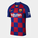 Barcelona Home Vapor Shirt 2019 2020 Junior