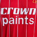 Liverpool 1982 Home Crown Paints S/S Retro Football Shirt