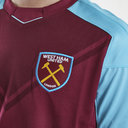 West Ham United 17/18 Home Kids S/S Replica Football Shirt