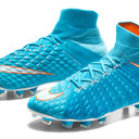 Hypervenom Phantom III FG D-Fit Womens Football Boots