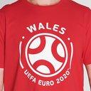 Euro 2020 Wales Graphic T-Shirt Mens