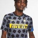 Inter Milan European Pre Match Shirt 20/21 Mens
