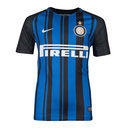 Inter Milan 17/18 Kids Home Replica S/S Football Shirt