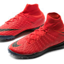 HypervenomX Proximo II Dynamic Fit Kids TF Football Trainers