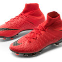 Hypervenom Phantom III Kids Dynamic Fit FG Football Boots