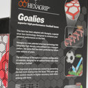 Hexagrip White Performance Football Laces