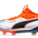 One 1 Leather FG/AG Football Boots