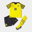 Borussia Dortmund Home Mini Kit 2021 2022