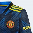 Manchester United Third Shirt 2021 2022 Junior