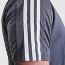 D2M 3 Stripe Short Sleeve Tee Mens