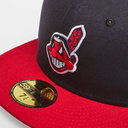 MLB Cleveland Indians Fitted 59FIFTY Cap