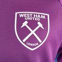 West Ham Short Sleeve T Shirt Mens