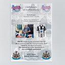 Newcastle United Kevin Keegan 1982 Signed Framed Football Shirt